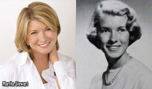 Martha Stewart's 1957 Yearbook Photo