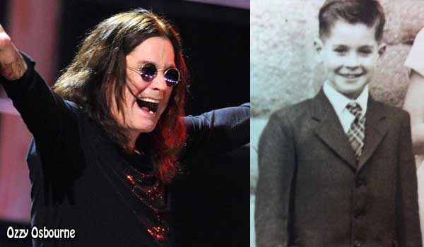 Ozzy Osbourne's High School Yearbook Photo