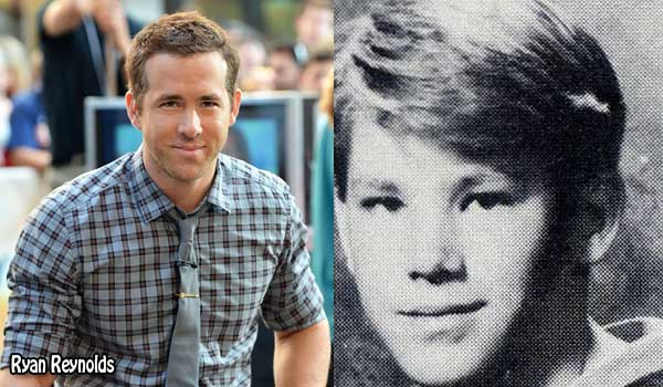 Ryan Reynolds' 1992 Yearbook Photo