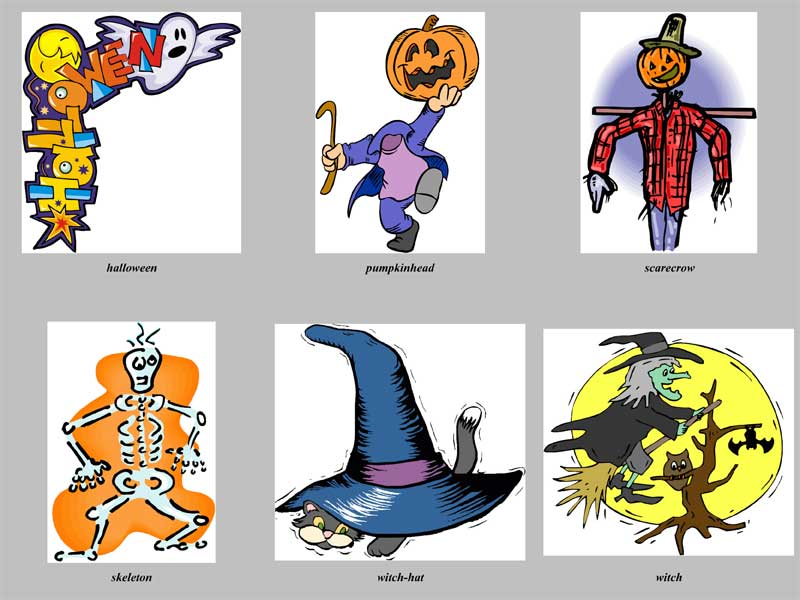 Halloween Clip-art Package #1